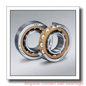 40 mm x 80 mm x 1.1875 in  NSK 3208 J C3 Angular Contact Bearings