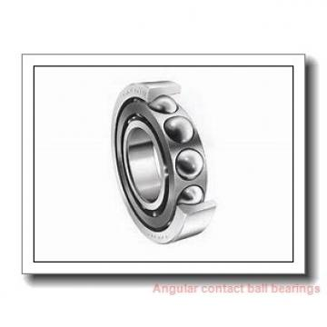 35 mm x 80 mm x 34,9 mm  FAG 3307-BD Angular Contact Bearings