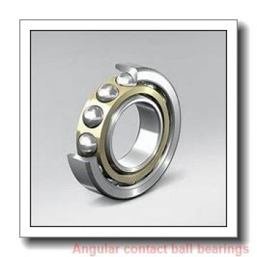 75 mm x 130 mm x 25 mm  Rollway 7215 BM Angular Contact Bearings