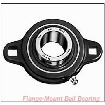 3.5000 in x 6.7500 in x 8.4400 in  Dodge F4B-SCM-308-NL Flange-Mount Ball Bearing