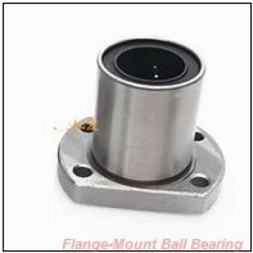 1.2500 in x 5.1200 in x 3.5000 in  Dodge F2B-DLEZ-104S-HCR Flange-Mount Ball Bearing