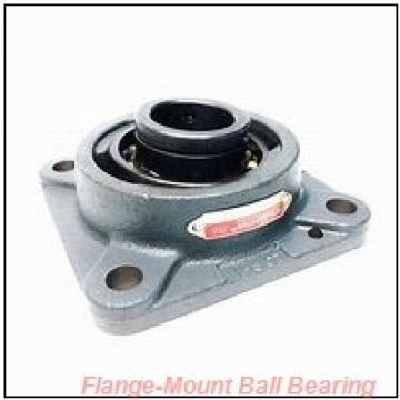 17 mm x 76.2 mm x 54.1 mm  Dodge F2B-SC-17MM Flange-Mount Ball Bearing