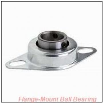 1.2500 in x 130 mm x 95.3 mm  Dodge F2B-SC-104-HT Flange-Mount Ball Bearing