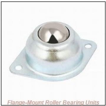 3-7/16 in x 8.1300 in x 11.3800 in  Dodge F4BK307R Flange-Mount Roller Bearing Units