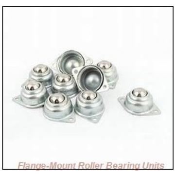 2-11/16 in x 5.3000 in x 8.7500 in  Dodge FCE211R Flange-Mount Roller Bearing Units