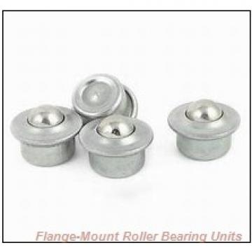 2-3/16 in x 4.8750 in x 6.2500 in  Rexnord MEF6307 Flange-Mount Roller Bearing Units